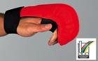 Karate Handschutz - ohne Daumenschlaufe CE M blau
