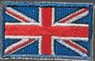 KWON Stickabzeichen Großbritannien