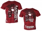 Legion Octagon T-Shirt L.O. Fight or Die, rot