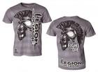 T-Shirt L.O. Fight or Die, grau XXL