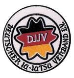 DanRho  Stickabzeichen Deutscher Ju-Jutsu-Verband