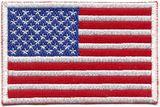 DanRho  Stickabzeichen USA-Flagge