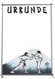 DanRho  Urkunde DIN A4  Karate