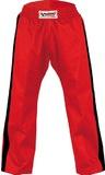 DanRho Hose Freestyle rot-Streifen schwarz