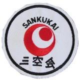 DanRho Stickabzeichen Sankukai