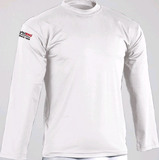 DanRho  Rash guard Langarm Shirt weiß