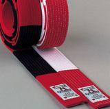 DanRho  Budo-Gürtel rot-weiß