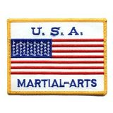 Sportimex  Aufnäher Martial Arts USA