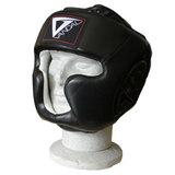 Vandal  Kopfschutz Vandal SW Leder mit Jochbein- und Kinnschutz - CE