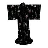 FujiMae  Japanischer Kimono Legende schwarz