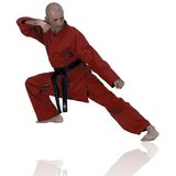 FujiMae  Karateanzug rot