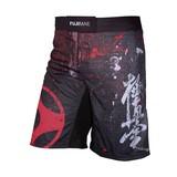 Fujimae  ProWear Short Kyokushin, Schwarz-Rot