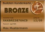 Budoten  Kundenkarte Bronze 5% Rabatt