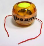 GyroTwister® Xbeam orange/gelb - mit 6 rot leuchtenden LED