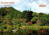 Budoten  Wandkalender 2018 - Wundervolles Japan (Utsukushii Nihon) groß