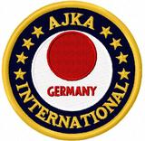 Budoten  AJKA American JKA Logo-Bestickung