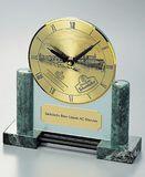 Aetzkunst  Uhr aus Marmor