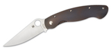 Spyderco  Military Fluted Titanium Heat Flamed