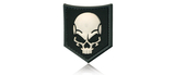 JTG SOF skull swat velcro patch