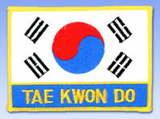Stickabzeichen  Taekwondo