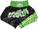 PHOENIX  Thai Shorts, FIGHTER schwarz-grün