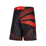 PHOENIX  PX MMA Shorts schwarz-rot, Stretch