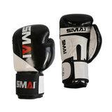 SPORTSMASTER SMAI SMAI PU Boxhandschuhe, schwarz-weiß