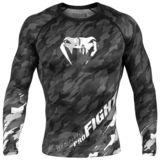VENUM  Venum Tecmo Rashguard - Long Sleeves - Dark Grey
