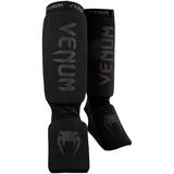 VENUM  Venum Kontact Shinguards-Black/Black