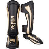 VENUM  Venum Elite Standup Shinguards - Black/Gold