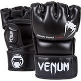 VENUM  Venum Impact MMA Gloves - Black - Skintex Leather