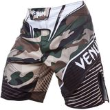 VENUM Venum Camo Hero Fight Shorts - Green/Brown
