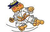 Budoten  Stickmotiv Karate Junge / Karate Boy DAC-CH1960