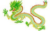 Budoten  Stickmotiv Asiatischer Drache / Oriental Dragon DAC-WC0066