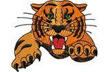Budoten  Stickmotiv Tiger W/claws DAC-MA0359