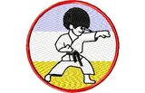 Budoten  Stickmotiv Patch Karate Kid - EMB-9233