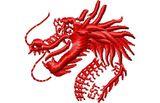 Budoten  Stickmotiv Drachen / Dragons - EMB-15130