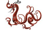 Budoten  Stickmotiv Drachen / Dragon - EMB-15067