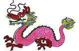 Budoten  Stickmotiv Drachen / Dragon - EMB-15036