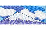 Stickmotiv Fujiyama, Fujisan / Mt. Fuji EMB-LH468