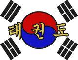 Budoten  Rückenbestickung medium Taekwondo / Tae Kwon Do DAC-SP3766