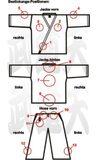 Budoten  Position Textil-Bestickung Kampfsport-Jacken