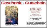 Budoten  Brief-Geschenkgutschein Karten-Design  Feuerwerk