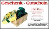 Budoten  Brief-Geschenkgutschein