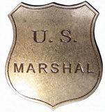 Jean Fuentes  US Marshal (Abzeichen)