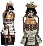 Jean Fuentes  Miniatur Rüstung - Samurai Krieger - Naoe Kanetsugu Shogun