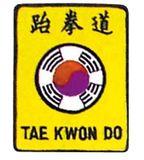 Budoland  Stickabzeichen Taekwondo