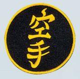 Budoland  Stickabzeichen Karate