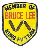 Budoland  Stickabzeichen Member of Bruce Lee Kung Fu Team