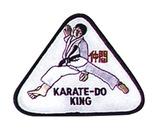 Budoland  Stickabzeichen Karate-Do-King